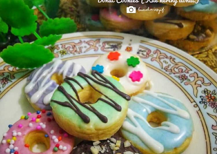 Donat Cookies (Kue Kering Donat)