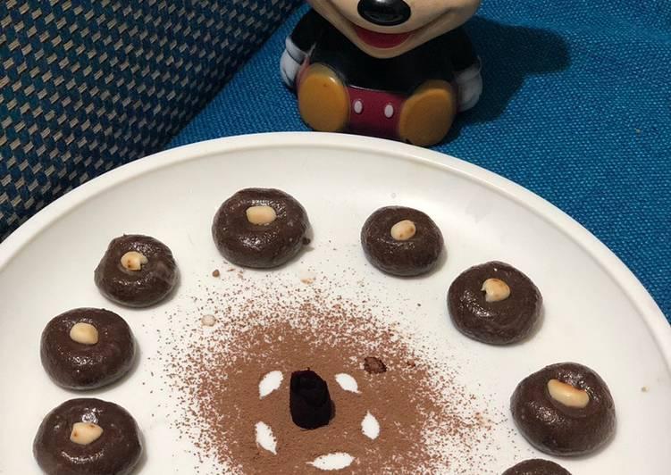 चाॅकलेट पेढा (chocolate peda recipe in Hindi)