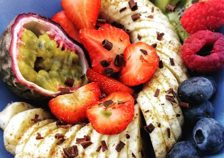 Méli Mélo de fruits frais