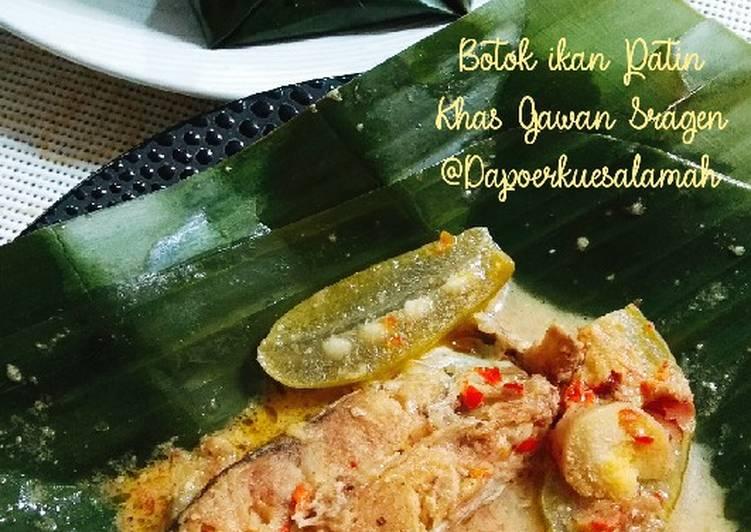 Resep Botok Ikan Patin Khas Jembatan Gawan Sragen Oleh Elika Dapoerkuesalamah Cookpad
