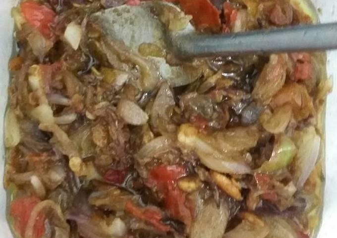 Resep Sambal brambang (bawang merah) goreng Anti Gagal