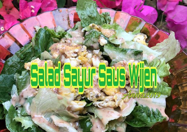 Resep Salad Sayur Saus Wijen Oleh Adriana Endang Triningsih Cookpad