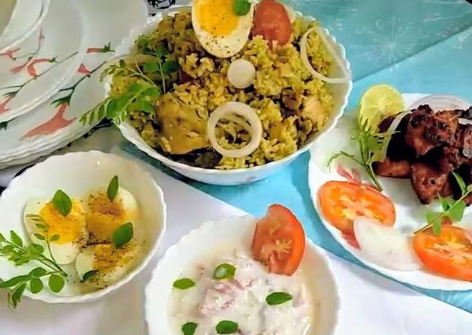 Easy Chicken Biryani In Pressure Cooker Recipe By Jayanthy Asokan Cookpad
