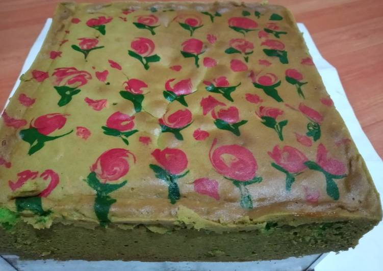 Jelita cake(Bolu Lukis)