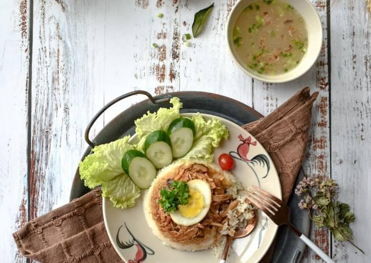 Nasi Kukus Ayam Cendawan Leftover - velavinkabakery.com