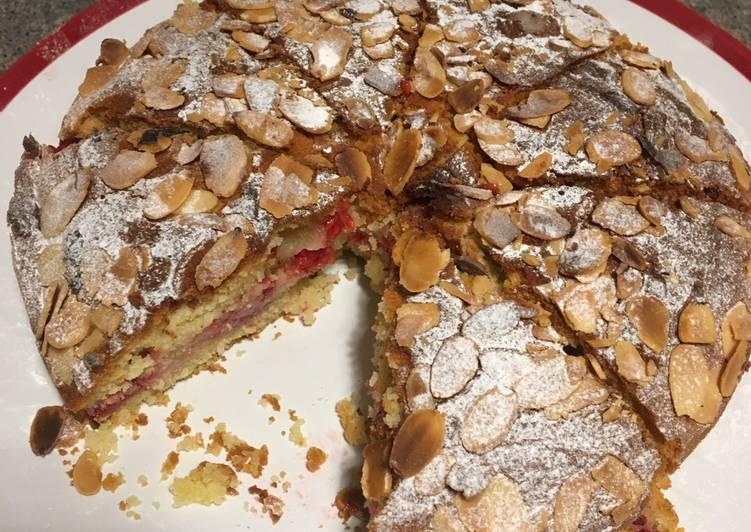 Recipe of Favorite Raspberry Bakewell Cake