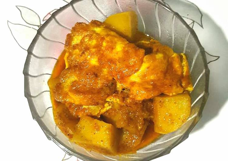 How To Improve  Egg Omelette Potato Curry