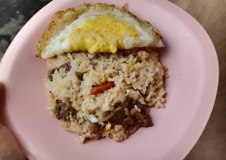 Nasi Goreng daging Rumahan