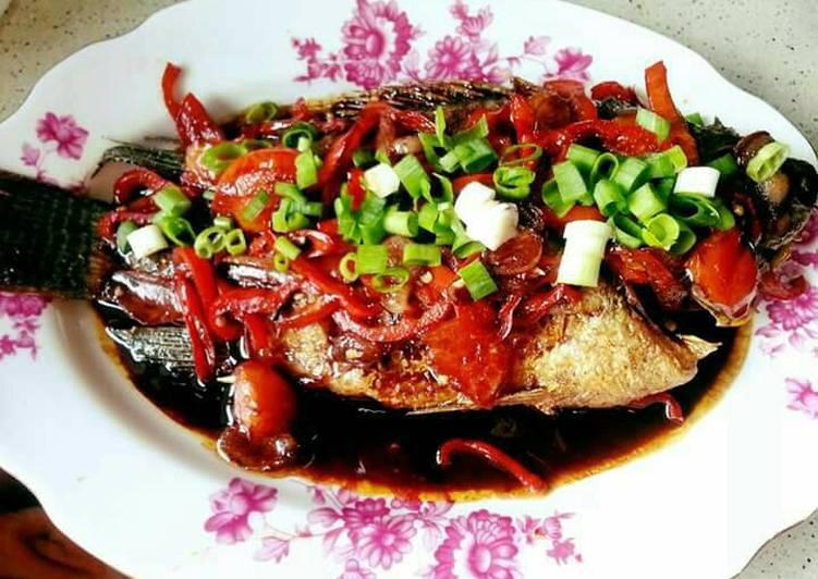Resep Ikan Gurame Masak Kecap Pedas Oleh A Muy Cookpad