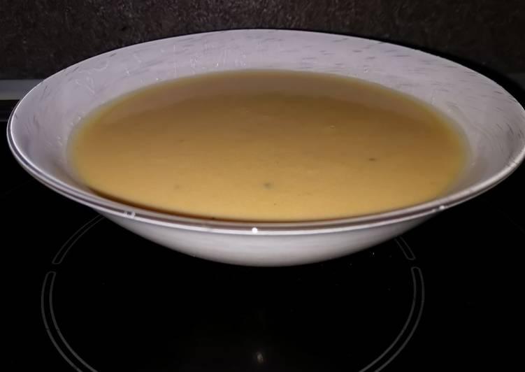 Recette Délicieux Potage au maredsous