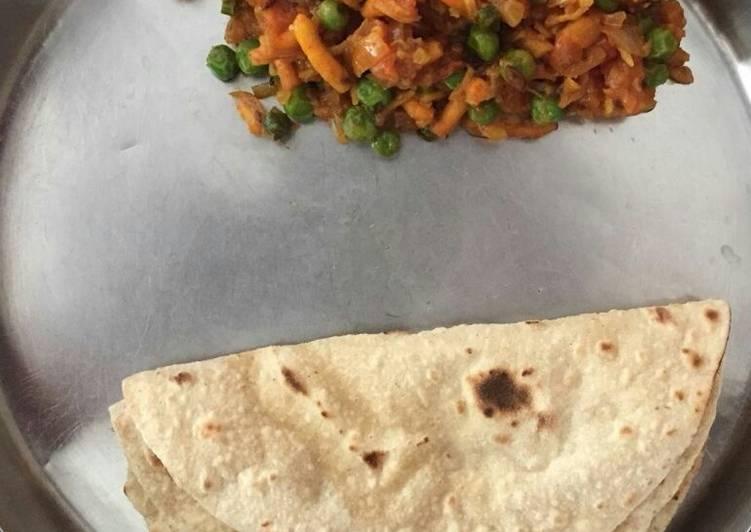 10 Minute Steps to Prepare Quick Farsan sabji