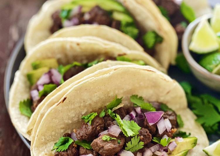 Easiest Way to Prepare Favorite Mexican Street Tacos
