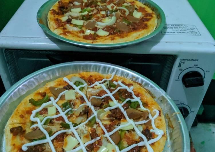 Pizza Home Made Anti Gagal (No Ulen)