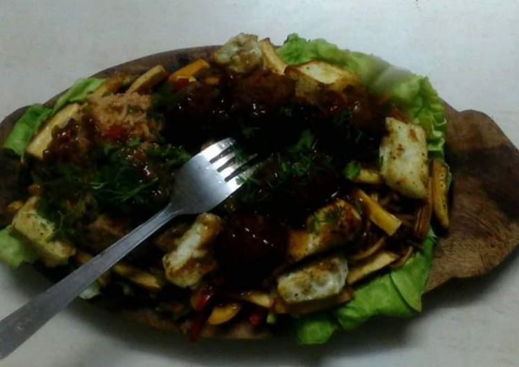 How to Make Most Popular Jain Chinese sizzler
