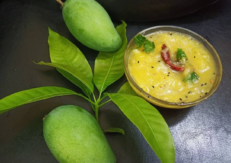 Steps to Make Top-Rated Raw Mango chutney