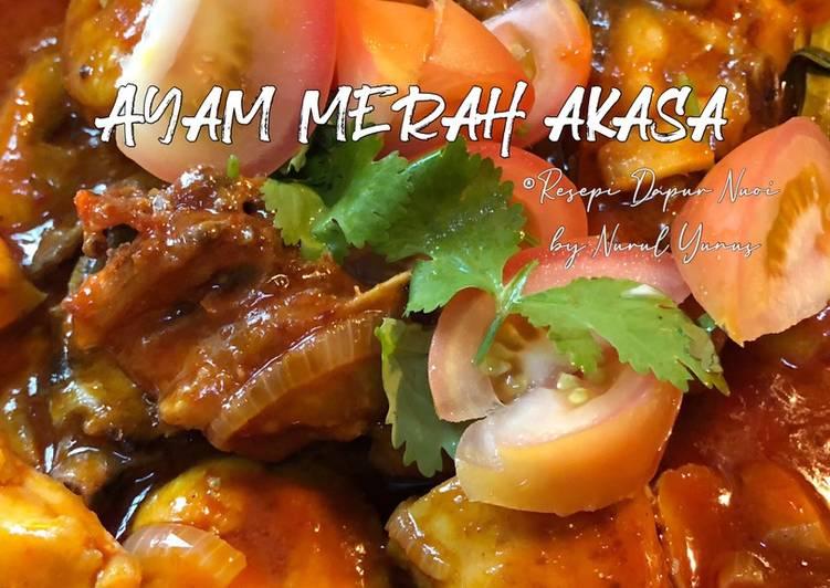 Resepi Ayam Merah Akasa - velavinkabakery.com