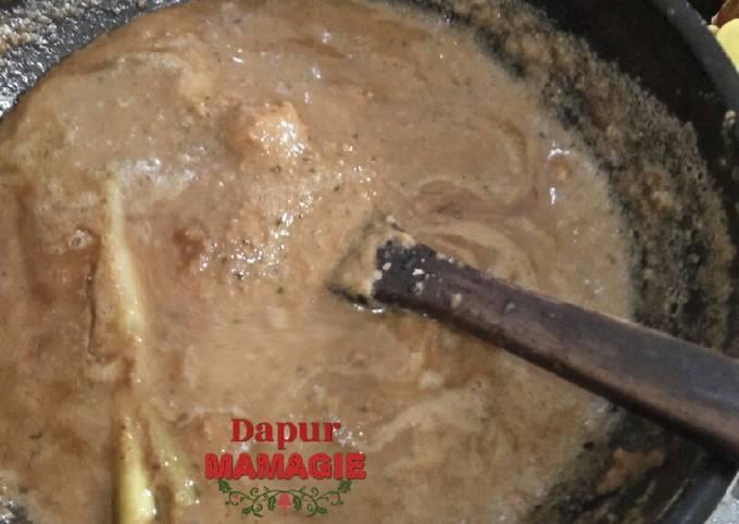 Cara Mudah Memasak Bumbu kacang untuk sate yang Sempurna