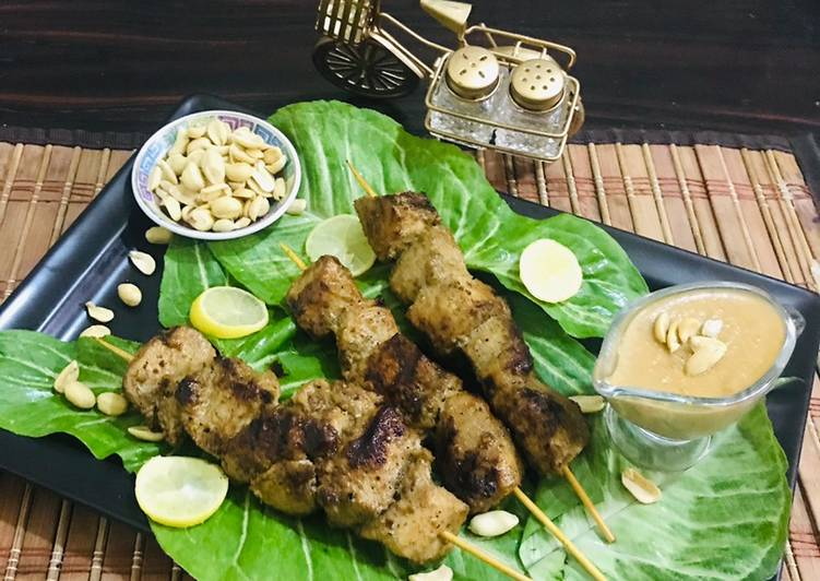 Thai chicken satay with peanut butter sauce, A Lot Of You Might Not Recognize This But Coconut Oil Can Have Great Health Advantages To It