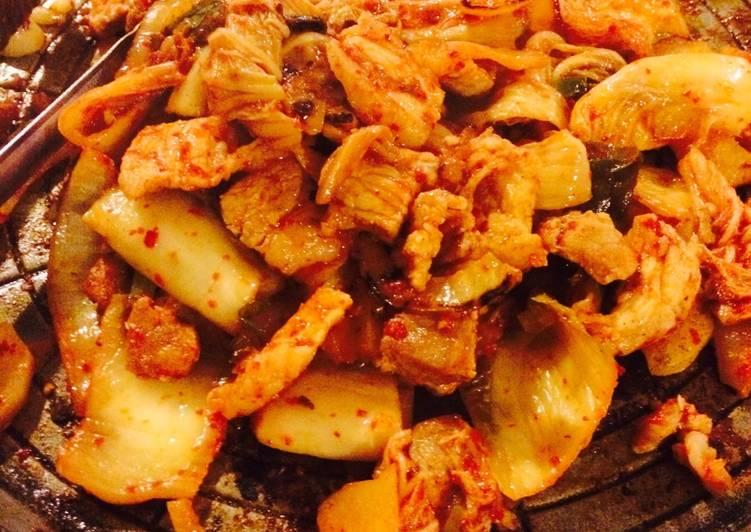 Belle's Pork Kimchi