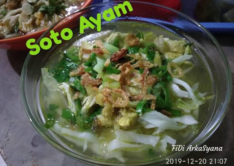 Resep Soto Ayam Bening 🇮🇩 Anti Gagal
