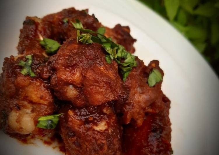 Recipe of Perfect Sweet, sour and spicy chicken wings
