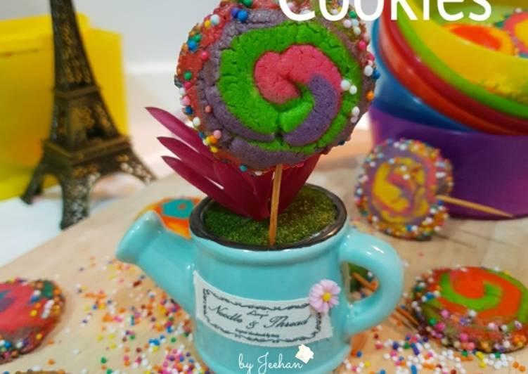 Lollipop Sugar Cookies