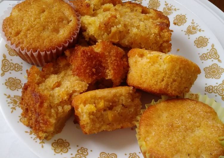 Recipe of Perfect Easy Sweet Cornbread Muffins