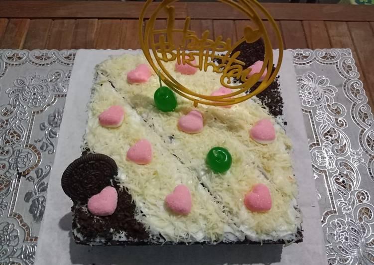 Resep Brownies Tart Terbaik