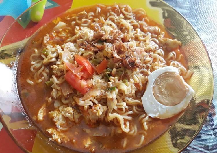 Resep Indomie Pedas Kuah Nikmat Paling Top
