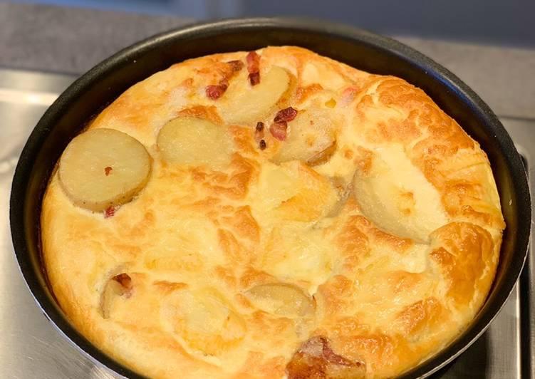 Omelette montagnarde