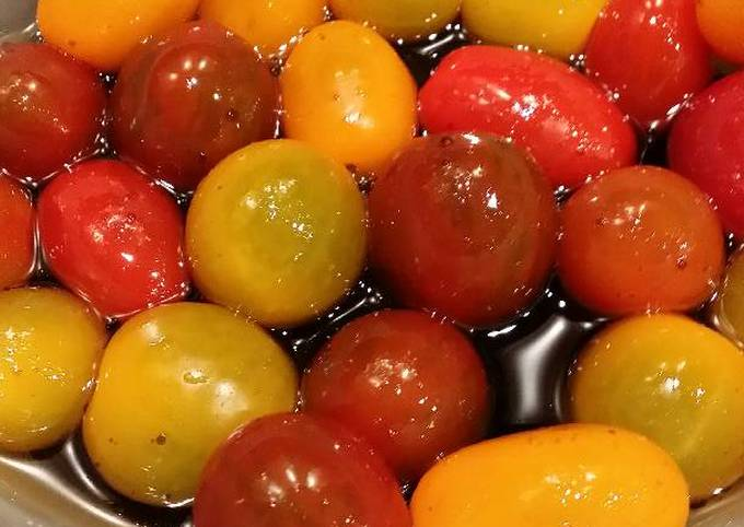 Step-by-Step Guide to Make Favorite Brad's cherry tomato appetizer