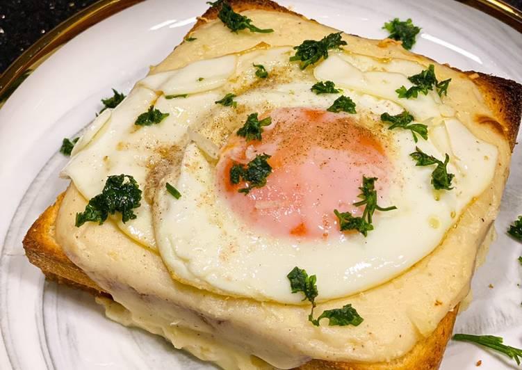 Resep Croque monseur /sandwich ala french Bikin Jadi Laper