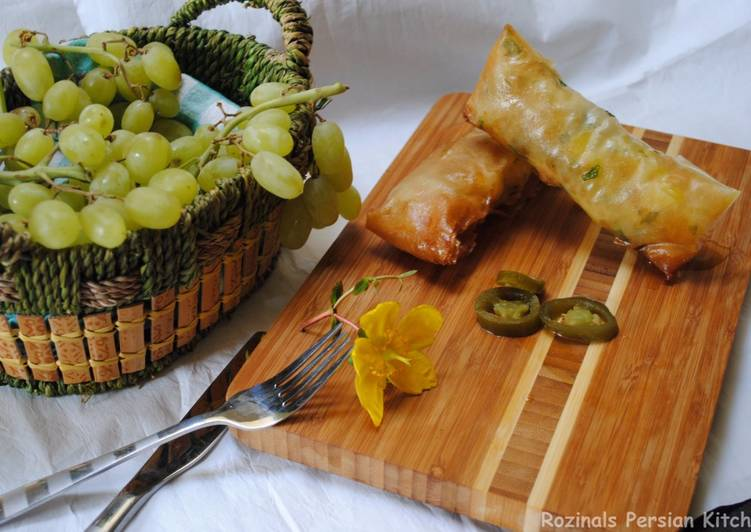 Step-by-Step Guide to Prepare Perfect Persian Potato samosa