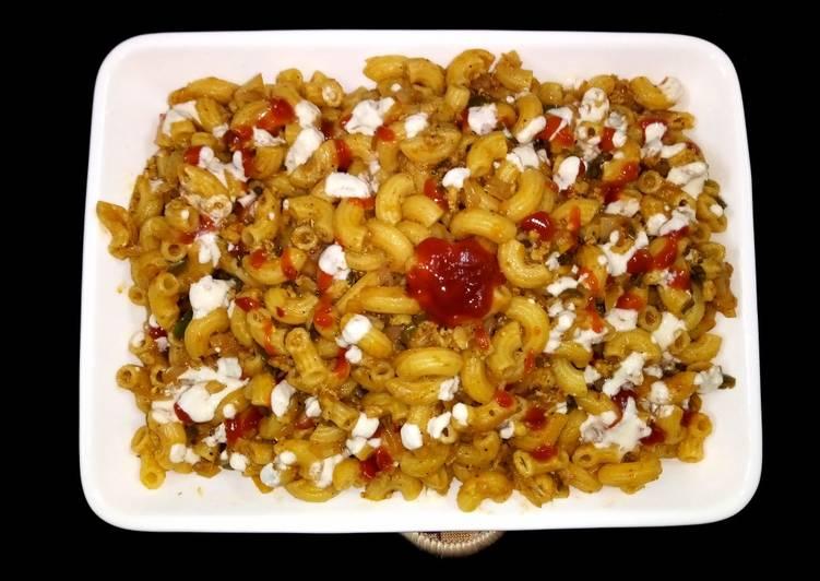 Step-by-Step Guide to Cook Tastefully Qeema macaroni