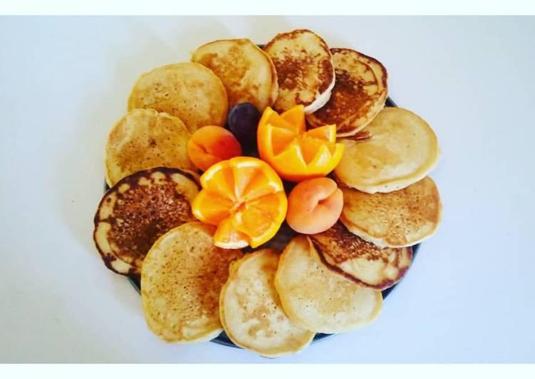 Recette Parfait Pancakes vegan 🥞