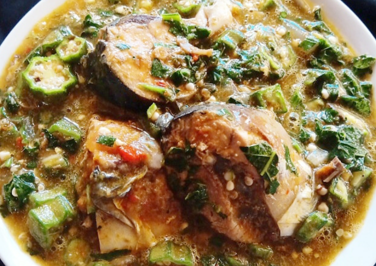 How to Make Perfect Okrp with fresh fish soup