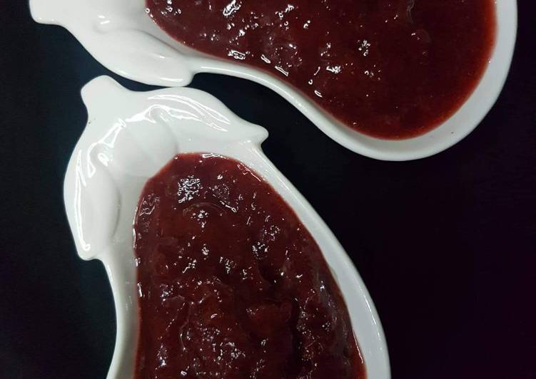 Strawberry jam.. Yummy