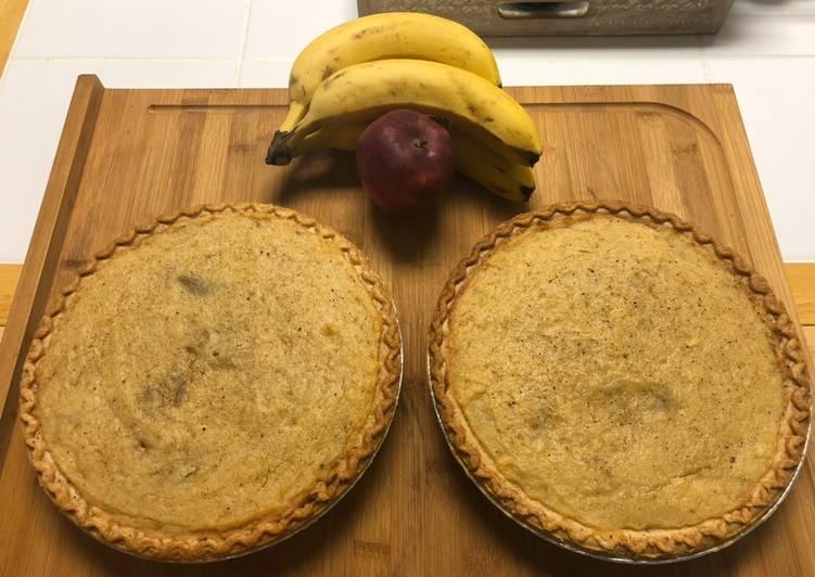 Recipe of Quick Sweet Potato Pie (さつまいも🍠)