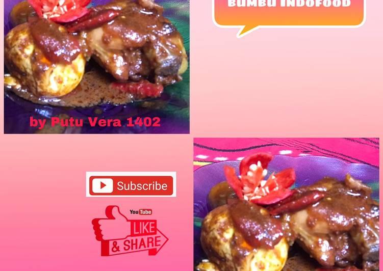Resep Rendang Ayam Bumbu Indofood, Enak