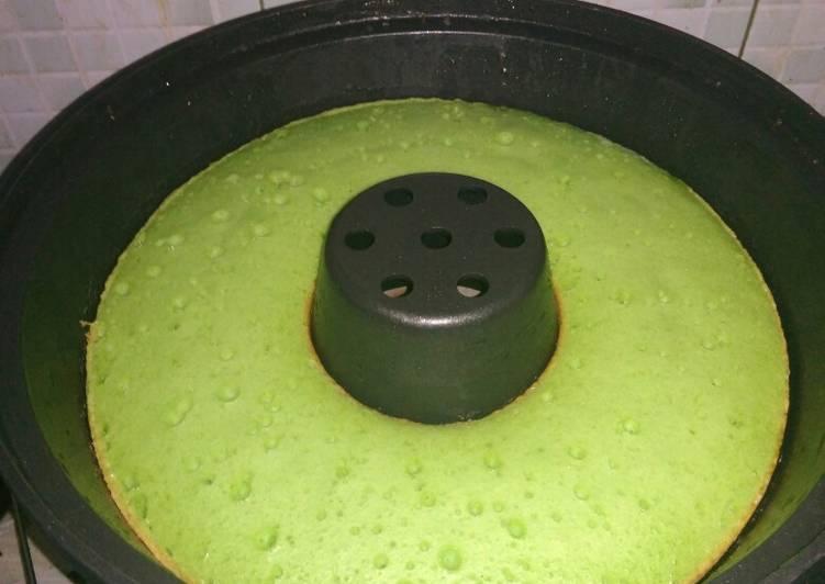 Bolu Pandan Panggang (baking pan)