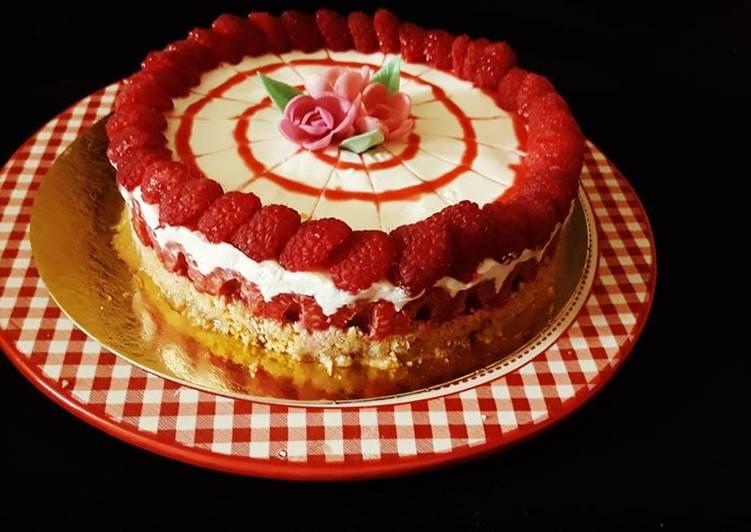 Le moyen le plus simple de Préparer Parfait Cheesecakes sans cuisson aux framboises
