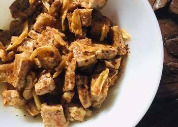 How to Recipe Delicious Crispy Tofu Bulgogi