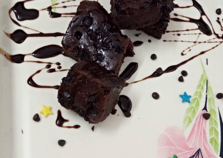 Steps to Make Ultimate Dulche De Leche Chocolate Brownie !!