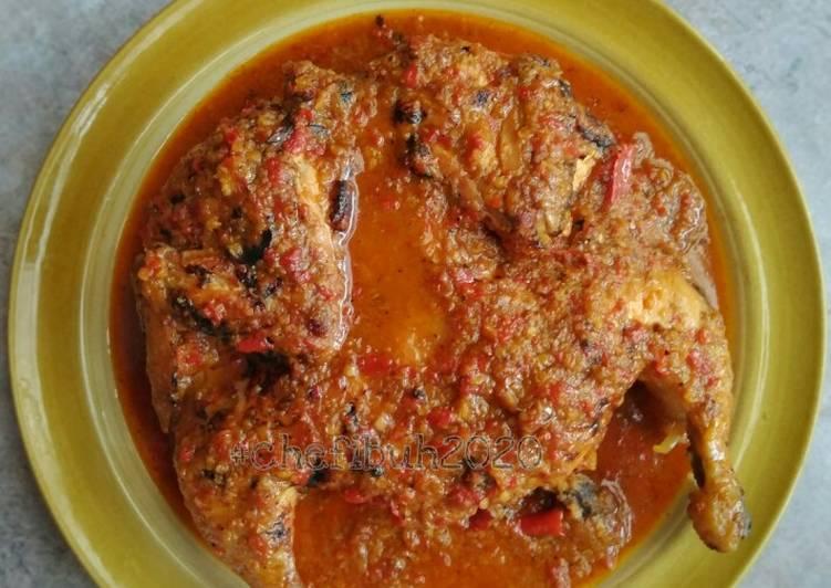 Ayam Panggang Pedes Bumbu Kencur - cookandrecipe.com