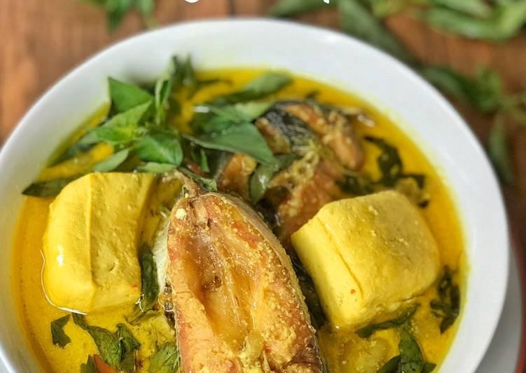 Gulai Kuning Ikan Patin