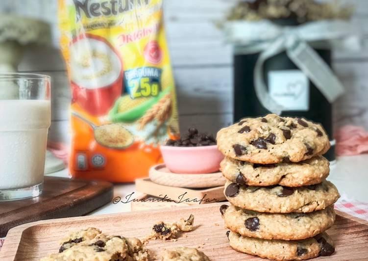 Nestum Chocolate Chips Cookies