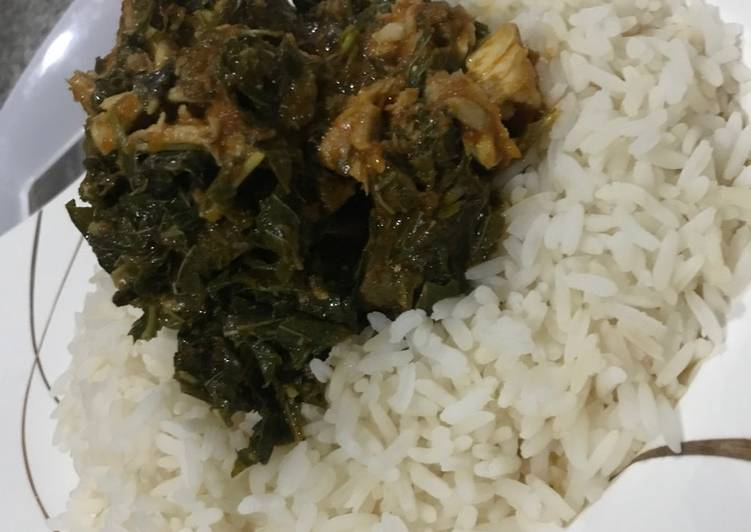25 Minute Recipe of Any Night Of The Week Vegetable sauce and rice