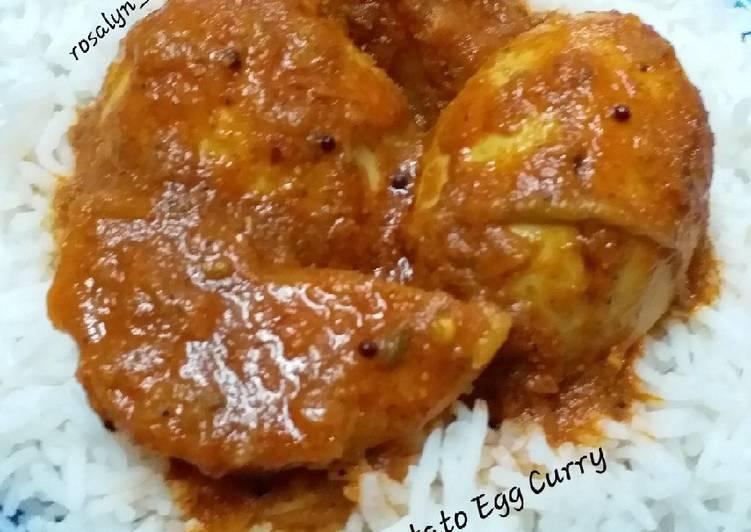 Potato Egg Curry