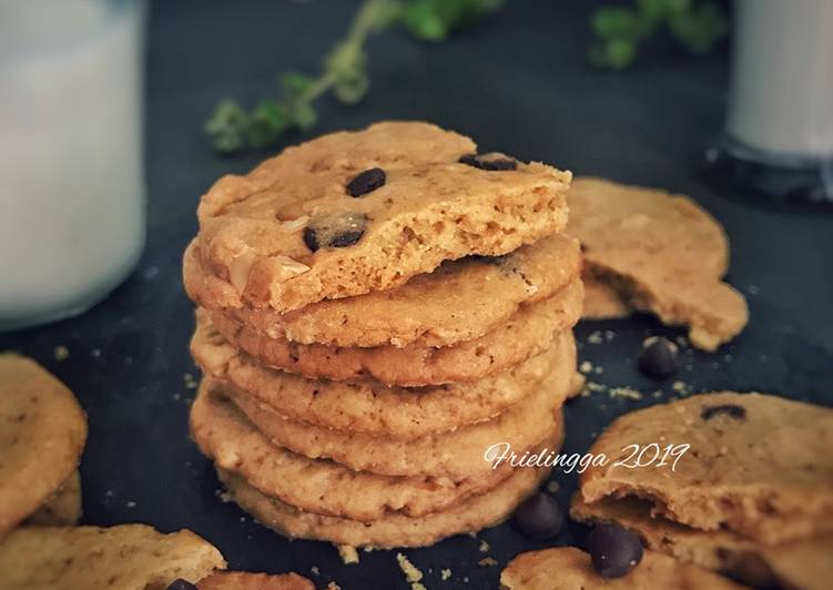 Brown sugar - choco chips cookies