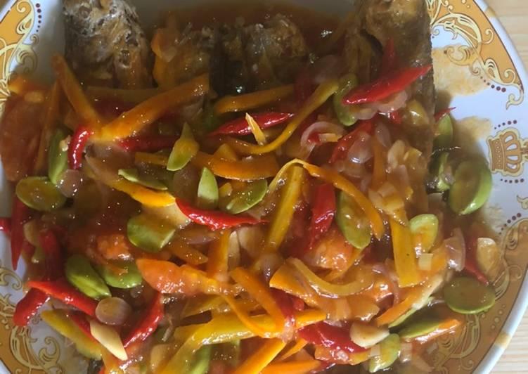 Resep Senangin saos pedas Yang Gampang Lezat